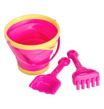 Bucket and spade set Pink
