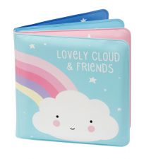 Bath book: Cloud & friends