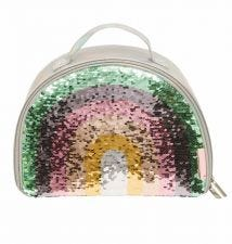 Cool bag: Rainbow sequin