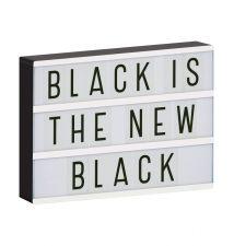 lightbox a4 black
