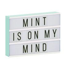 lightbox a4 mint