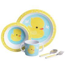 kids dinner set duck