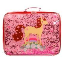 Suitcase: Glitter - horse