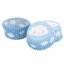 blue cupcake case cloud
