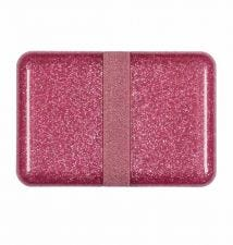 Lunch box: Glitter - pink