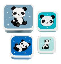 Lunch & snack box set: Panda