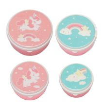 Snack boxes unicorn, rainbow and shooting star