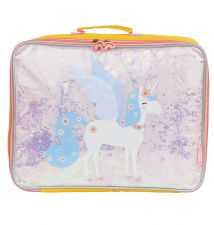 Suitcase: Glitter - unicorn
