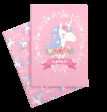 A5 notebooks unicorn