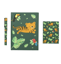 Stationery set: Jungle tiger