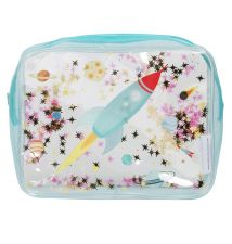 Toiletry bag: Glitter – space