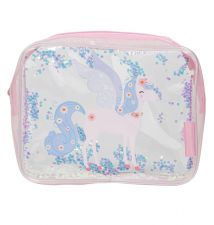 Toiletry bag: Glitter - unicorn
