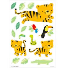 Wall sticker: Jungle tiger