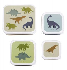 Lunch & snack box set: Dinosaurs
