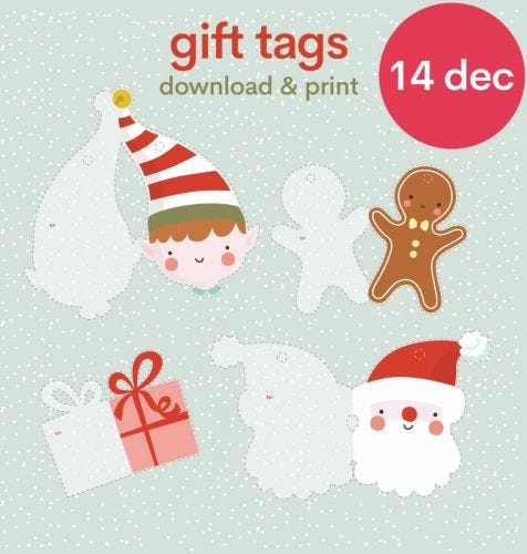 Download: DIY gift tags