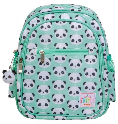 backpack panda front view