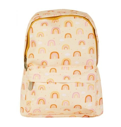 Little backpack: Rainbows   Back to school   A Little Lovely Company