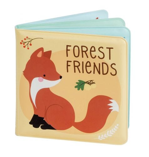Bath book: Forest Friends