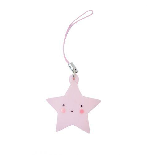 Charm: Star - pink