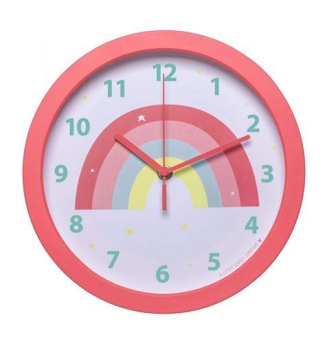 Clock: Rainbow