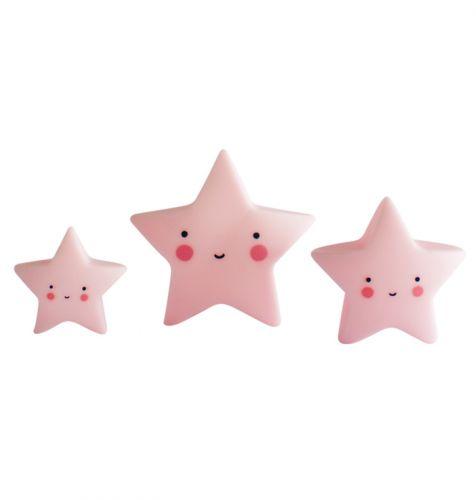 Minis: Stars - pink