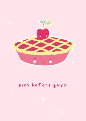 Postcard pies en guys