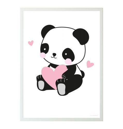 Poster panda love