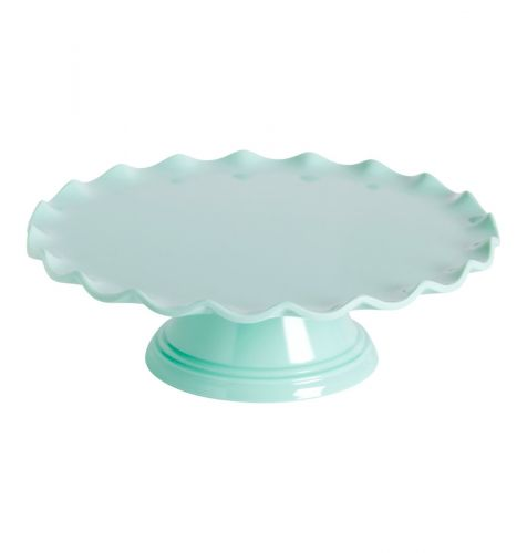 Cake stand: Wave – mint