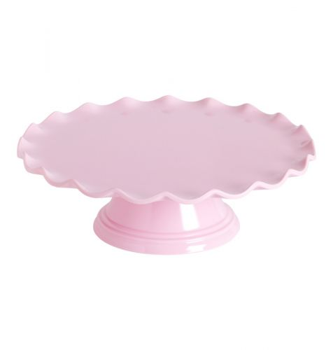 Cake stand: Wave – pink