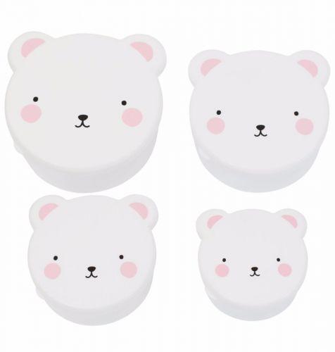 Snack box set: Bear - pink