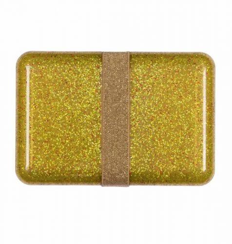 Lunch box: Glitter - gold