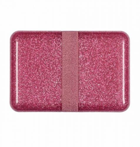 Lunch box: Glitter - pink