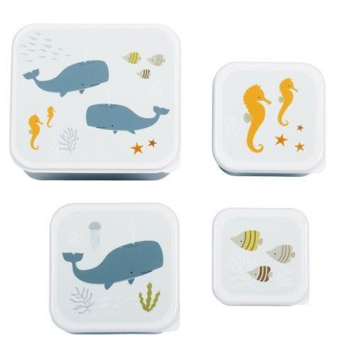 Lunch & snack box set: Ocean