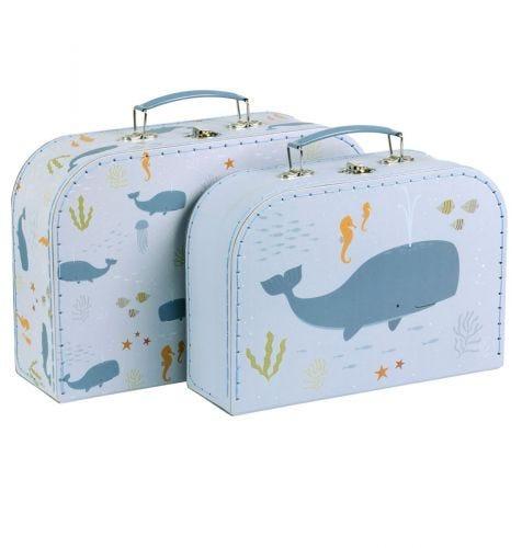 Suitcase set: Ocean