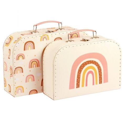 Suitcase set: Rainbows
