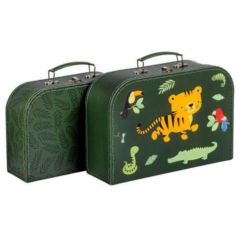 Suitcase set: Jungle tiger