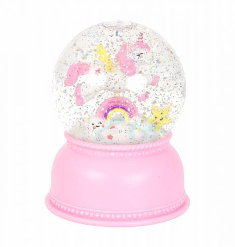 Snowglobe light: Unicorn