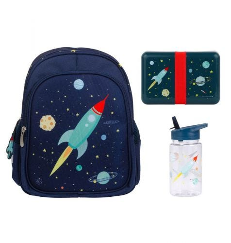 Mochila escolar set mochila suministros niños pequeños A Little Lovely Company