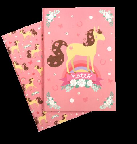 A5 notebooks horse