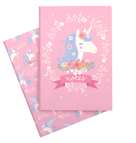 A5 notebooks unicorn