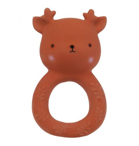 teether teething toy teethers teething toys teething baby hevea natural material a little lovely company
