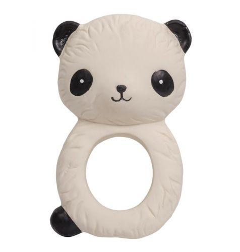 teething ring panda front view