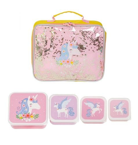School bag set cool bag supplies kids toddler A Little Lovely Company
