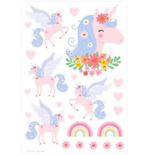 Wall sticker: Unicorn